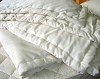 Organic Cotton Covered EcoWool Comforters from Abundant Earth