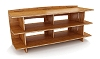 Bamboo Media Stand - 24 Inch by 53 Inch