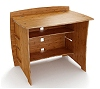 36 Inch Organic Bamboo Desk