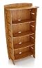 59 Inch x 31Inch Organic Bamboo Bookcase