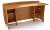 60 Inch Organic Bamboo Desk