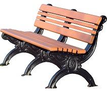 Carnegie Park Bench 6'