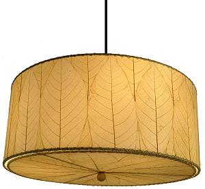Natural cocoa leaf hanging drum pendant lamp natural cocoa leaf hanging drum pendant lamp in natural aloadofball Images