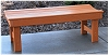 Recycled Plastic Coliseum Bench