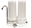 Dual Countertop Water Filter w/Fluoride Pre-Filter and Spout