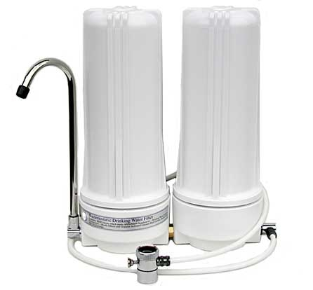 So-Clear Dual Countertop Water Filter with Fluoride Removal