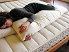 Organic Cotton Covered Natural Wool-Filled Whole Body Pillow