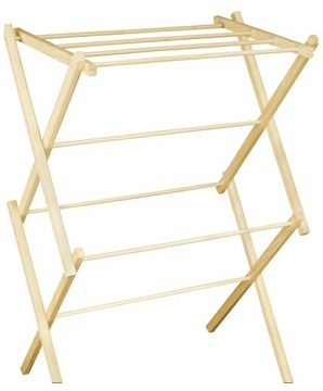 Mt. Hood Wooden Clothes Drying Rack