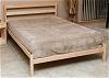 The Nehalem Platform Bed in Maple