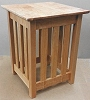 Pacific Rim Maple Mission End Table / Plant Stand