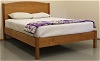 Pacific Rim Shasta Platform Bed in Cherry