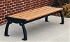Recycled Plastic Point Reyes Backless Bench