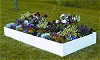 Raised Bed Garden Kit made with Recycled Materials