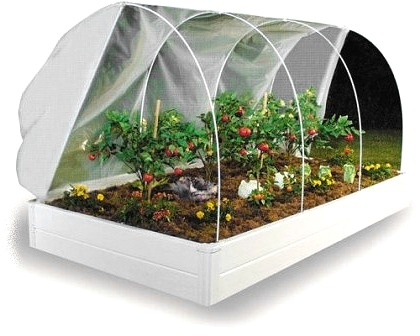 UNAVAILABLE Until FALL 2018 ~ Greenhouse Cover System ONLY For Raised Bed  Garden Frames