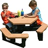 Recycled Plastic Little Tikes Childrens Hex Picnic Table