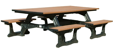 Recycled Versailles Picnic Table