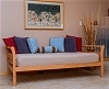 The Rockaway Day Bed in Oak with Danish Oil