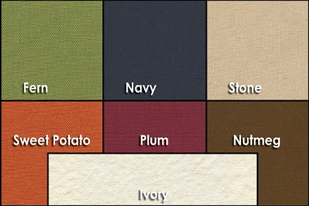 Abundant Earth Organic Zabuton Cover Colors