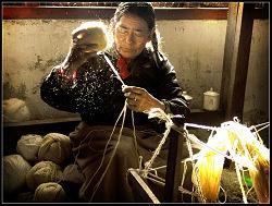 Tibatan Carpet Weaver