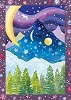 Twilight Recycled Paper Card
