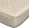 Washable Quilted Natural Wool Mattress Pad Protector