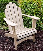 Recycled Plastic Lumber Adirondack Chair