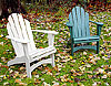 Outdoor Furnishings - Recycled Plastic Lumber Adirondack Chair