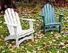 Outdoor Furnishings - Recycled Plastic Lumber Adirondack Chair