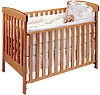Pacific Rim Arts & Crafts Maple Convertible Crib