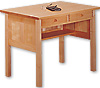 Pacific Rim Maple Writing Desk