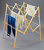 Mt. Rainier Clothes Drying Rack - Made From Sustainably Harvested Wood
